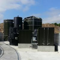 landfill leachate treatment plant - Lean Quarry, UK - BIOMEMBRAT®