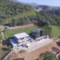 landfill leachate treatment plant - LTP Medellín, Colombia - BIOMEMBRAT®