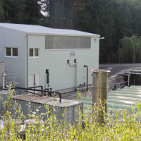 landfill leachate treatment plant - Riederberg, Austria - BIOMEMBRAT® plus membrane bioreactor