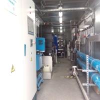 Containeranlage für Abwasserbehandlung in der Haushalt- und Körperpflegeindustrie in Spanien (l´Oreal Burgos)