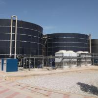 LTP Djebel Chekir, Tunisia - BIOMEMBRAT®membrane bioreactor - landfill leachate treatment plant