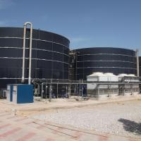 Anlage zur Behandlung von Sickerwasser Djebel Chekir, Tunesien - BIOMEMBRAT® MBR