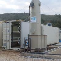 Deponiesickerwasser Direktbehandlung mit Umkehrosmose, Grammatiko, Griechenland
