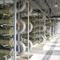 LTP Laogang, China - BIOMEMBRAT® - landfill leachate treatment plant