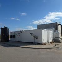 Tratamiento de lixiviados, Stary Las, Polonia – MBR BIOMEMBRAT® en contenedor
