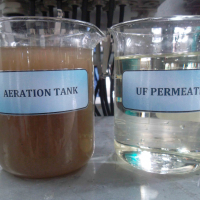 MBR bioreactor de membranas - BIOMEMBRAT® Muestra UF