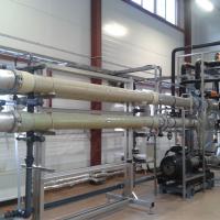 MBR_Ultrafiltración de Unilever San Petersburgo, Rusia - bioreactor de membrana WEHRLE