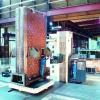 Mechanische Bearbeitung Festbettreaktor - Parpas ML-100 - in der Großteilefertigung von WEHRLE