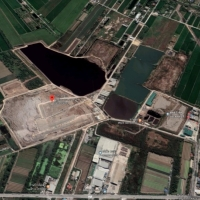Nonthaburi Landfill leachate treatment (Source: Google maps)