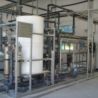 NF system a final treatment step in a leachate treatment plant