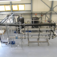 Tratamiento de aguas residuales procedentes de la fabricación de medicamentos
