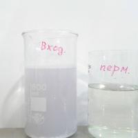 нулевой сброс сточных вод   Очистка производственных сточных вод предприятия по производству средств личной гигиены до и после МБР