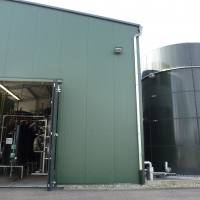 WEHRLE BIOMEMBRAT® plus - leachate treatment plant at Hohberg landfill in Germany