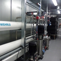 Pig slurry treatment with Reverse Osmosis