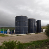 leachate treatment technology of WEHRLE for landfill in Nabeul, Tunisia