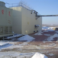 Economic solutions for waste treatment - WEHRLE leachate treatment plant in Harbin, China (outside temperature -30°C)