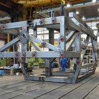 Schweißkonstruktionen von WEHRLE - Transportgestell