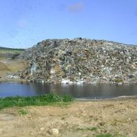 Sickerwasser aus Abfalldeponien