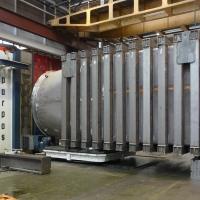 Stoßrohr -  mechanische Bearbeitung von Großbauteilen bis zu 40t - WEHRLE