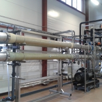 WEHRLE BIOMEMBRAT (MBR) / Ultrafiltration at Unilever St. Petersburg, Russia