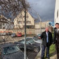 Umwelttechnik aus Emmendingen führend -Bundestagsabgeordneter Peter Weiß informiert sich im WEHRLE-WERK