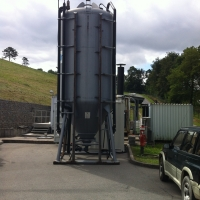 WEHRLE rental plants for waste water treatment