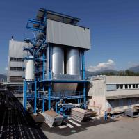 Verbrennungsanlage McStep (CIMO) für Klärschlamm und Lösemittel