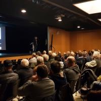 Bürgerinformationsveranstaltung zum Thema Klärschlammverwertung in Breitenhart - Prof. Quicker im Vortrag