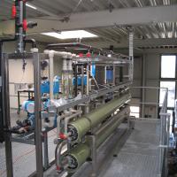 Wasserrecycling in der Wäscherei - Prozesswasseraufbereitung, Prozesswasserversorgung von WEHRLE