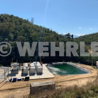 WEHRLE - Установка обратного осмоса для очистки фильтрата ТБО,  Бразилия