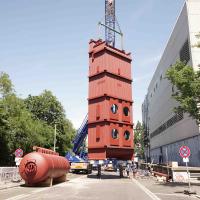 WEHRLE Boiler Systems - University Hospital Freiburg Boiler Construction