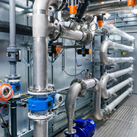 WEHRLE - Ultrafiltration - Mietanlage in Containerbauweise