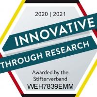 """Компания WEHRLE получила знак отличия """"Инновации в исследованиях"""""""