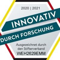 """WEHRLE-WERK erhält das Siegel """"Innovativ durch Forschung"""""""