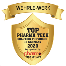 WEHRLE has been awarded one of the top10 Pharma Tech solution providers