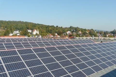 Solarkraftwerk WEHRLE