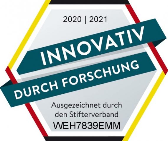 WEHRLE ausgezeichnet vom Stiftverband des BMBF - innovativ durch Forschung