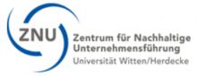 ZNU Zentrum für Nachhaltige UnternehmensführungZNU
