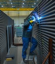WEHRLE propose l'usinage de grandes pièces en petites séries et la production de pièces uniques, entre autres pour l'industrie lourde.