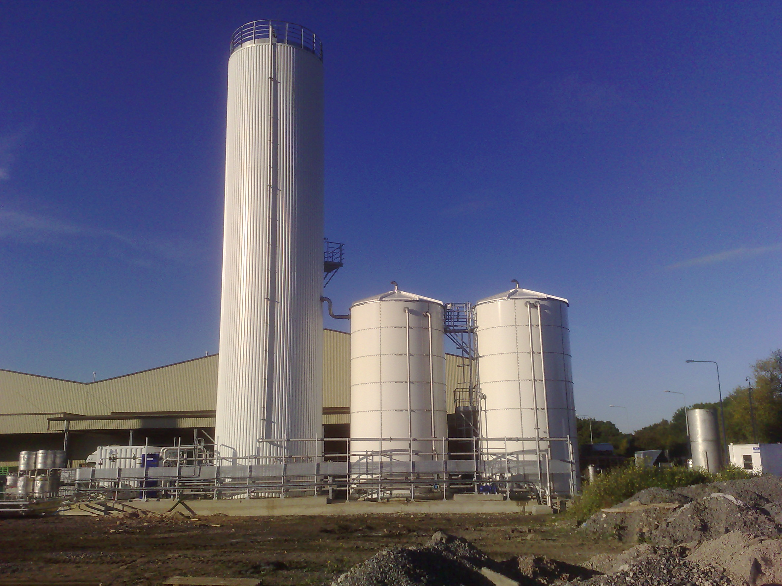 WEHRLE wastewater treatment for food & beverage industry  - 2009, Unilever, Gloucester (Great Britain)